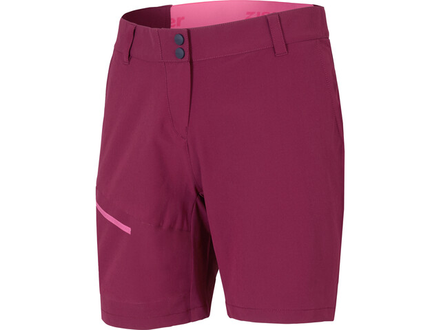 Ziener Nedda Shorts Women cassis